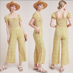 Faithfull the Brand sunflower jumpsuit